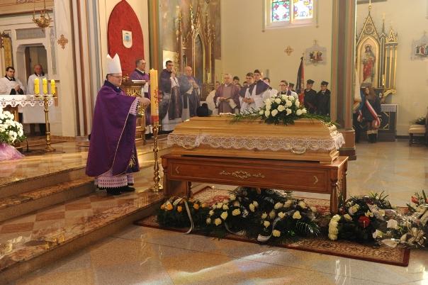 pogrzeb ks. Mokwy